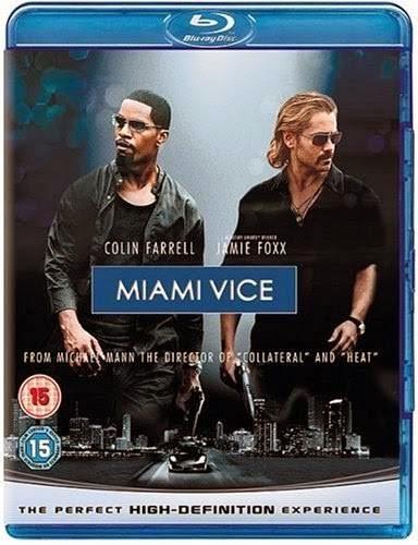Miami Vice (2006) [Dual Audio] [Hindi English] Unrated BRRip 480p 300MB Poster